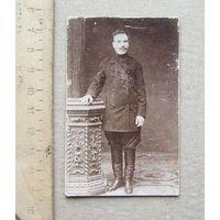 Фото Мужской портрет в полный рост дореволюционное Россия до 1917 года