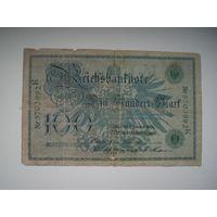 100 марок 1908 г.