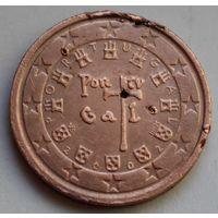 2 евроцента 2002 г. Португалия