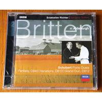 Richter / Britten. Piano Duets - Schubert (Audio CD - 2000)