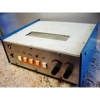 Ламповый фабричный SE (однотактный) стерео усилитель на ECL86