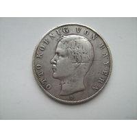 Бавария 3 марки 1909г.