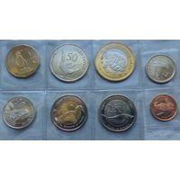 Галапагосские острова, Набор 8 монет