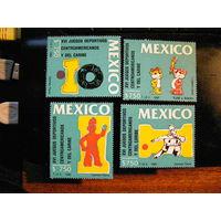 Мексика 1990. спорт спортивные игры Карибского региона