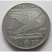 Италия 50 чентезимо 1941