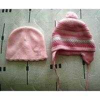 Две шапки деми для девочки