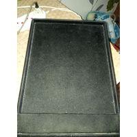 Бархатные планшеты для ювелирных изделий и монет 25х33 . цена за 1 шт.