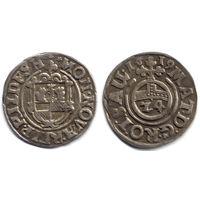 Грошен (1/24 талера) 1619, Германия, Хильдесхайм (город). Старая коллекционная патина