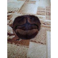 Шапка - ушанка норковая
