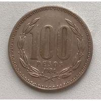 Чили 100 песо 1984 г.