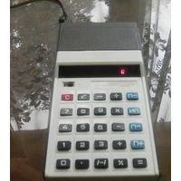 Калькулятор Электроника-57 с зарядным устройством Рабочий