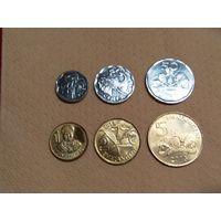 Свазиленд Набор 6 монет 2015