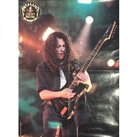Плакат двухсторонний, POSTER METALLICA (Kirk Hammett)
