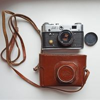Фотоаппарат ФЭД-3 с объективом И-61Л/Д. 2,8/53. Индустар-61