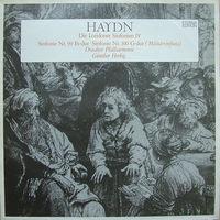 LP Haydn / Dresdner Philharmonie, Gunther Herbig - Die Londoner Sinfonien IV. Sinfonie Nr. 99 Es-dur, Sinfonie Nr. 100 G-dur (Militarsinfonie) (1976)