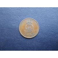 5 оре 1892. С 1 рубля