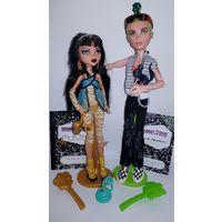Куклы Monster High Набор из 2х кукол Клео де Нил и Дьюс Горгон Базовые