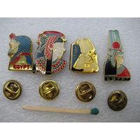 Знак - фрачник. Египет (тяжёлый, цанга). цена за 1 шт.