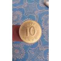390# 10 вон 2000. корея