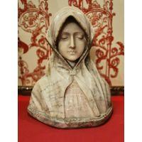 Статуэтка(Дева Мария) (Мадонна) (Фатима)  фигура скульптура мрамор камень