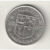 Маврикий 1 рупия 2007