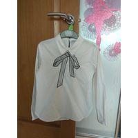 Школьная блузка, рубашка р.128 на 1-2 класс