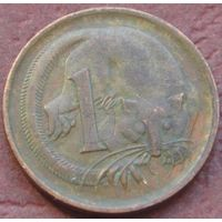 1974:  1 цент 1966 p Австралия