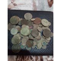 Монеты ри не мытые более 100шт(с рубля)