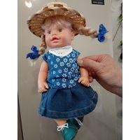Кукла в шляпке 31см