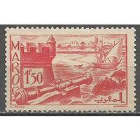 Французское Марокко. Форт Удайя. 1939г. Mi#162.