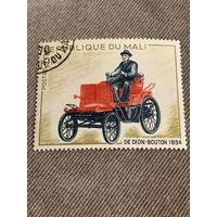 Мали. Автомобили. De Dion Bouton 1894