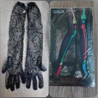 Перчатки и колготки на Хэллоуин