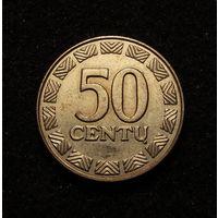 Литва, 50 центов 1997