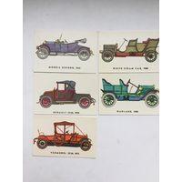 Календарики серии История автомобилестроения. Литва 1984