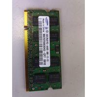 Оперативная память для ноутбука SO-DIMM 2Gb Samsung PC-6400 M470T5663EH3-CF7 DDR2 (907927)