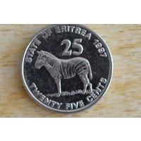Эритрея 25 центов 1997