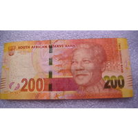 ЮАР 200 рандов. Нельсон Мандела.  распродажа
