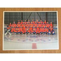 Фото Хоккей Россия 2002