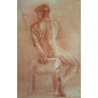 Рисунок академический 80х100 см
