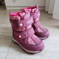 Сапоги ботинки Kapika Капика зимние. как Новые. 23 размер.  Состояние идеал! Носил только 1 ребёнок. Лампочки на сапожках мигают при ходьбе. Нет никаких дефектов. Самая лучшая мембранная обувь.  Самая