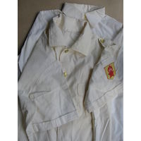 Школьная форма СССР. Парадные пионерские рубашки