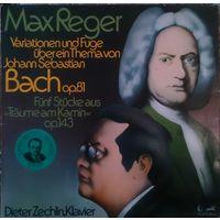 Dieter Zechlin,Klavier - Max Reger, Bach, LP