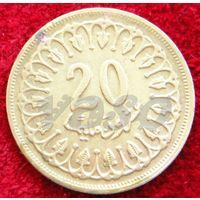 7114:  20 миллимов 1960 Тунис