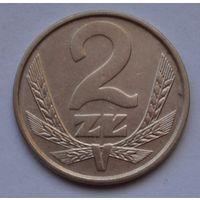 Польша 2 злотых, 1985 г.