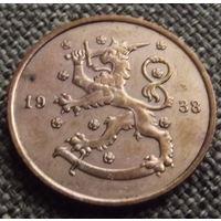 Финляндия. 10 пенни 1938