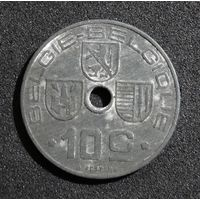 Бельгия 10 сантимов 1944