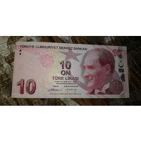 Турция 10 лир 2009
