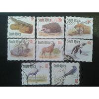 ЮАР 1998 стандарт, фауна цифры номинала красные