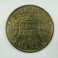 """Памятная медаль Гериания """"ADAC""""."""