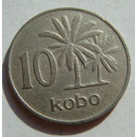 Нигерия 10 кобо 1973 г